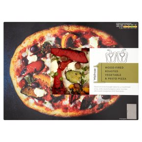 No1 Roasted Vegetable Pesto Pizza