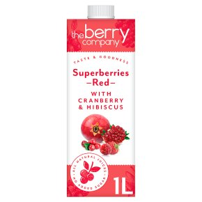 The Berry Company Superberries Red Juice Blend