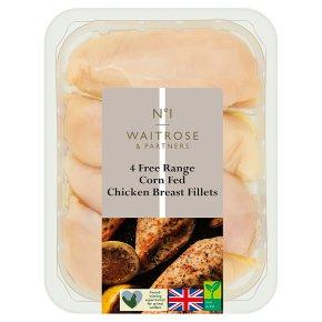 Waitrose 1 4 Free Range Chicken Breast Fillets