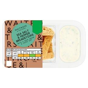 Waitrose Sea Salt & Pepper Breadsticks