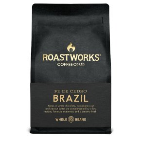 Roastworks Coffee Co Brazil Pe De Cedro Whole Beans