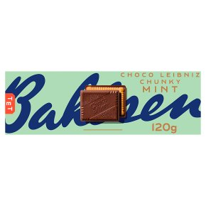 Bahlsen Choco Moments Crunchy Mint Biscuits