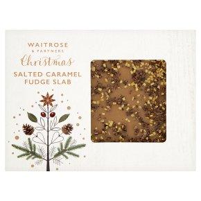 Waitrose Salted Caramel Fudge Slab