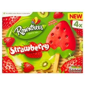 Rowntrees Strawberry Lollies