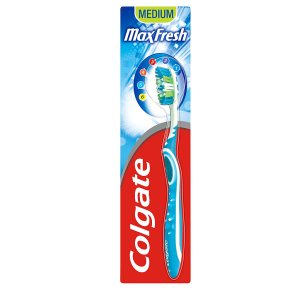 Colgate maxfresh toothbrush, medium