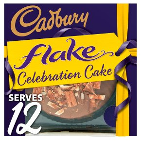 Cadbury Flake Celebration Cake