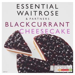 Essential Cheesecake Blackcurrant