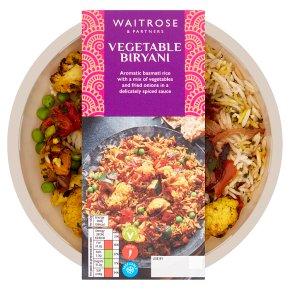 Waitrose Indian Vegetable Biryani