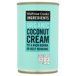 Waitrose Cooks' Ingredients organic coconut cream