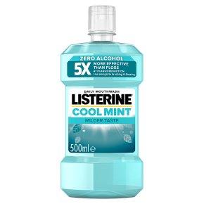 Listerine zero mouthwash mild mint