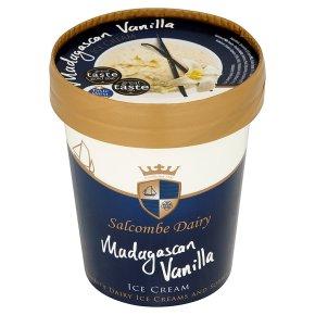 Salcombe Dairy Madagascan vanilla ice cream