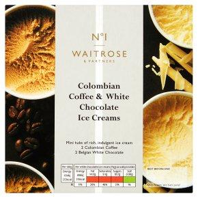 Waitrose 1 Mini Pots Coffee & White Choc
