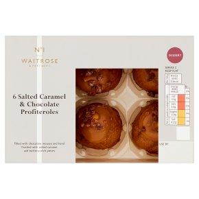 Waitrose No1 Caramel Choc Profiteroles 6s