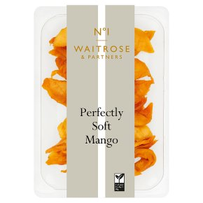 Waitrose 1 perfectly soft dried mango