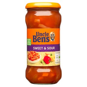 Uncle Ben's Oriental sweet & sour sauce
