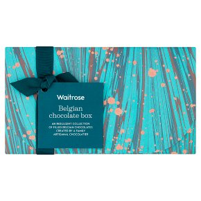 Waitrose Belgian Chocolate Box