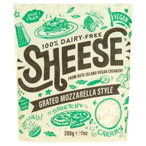 Sheese Vegan Grated Mozzarella Style