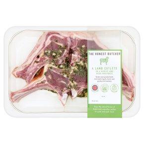 The Honest Butcher 4 Lamb Cutlets
