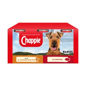 CHAPPIE Dog Tins Favourites 6 x 412g