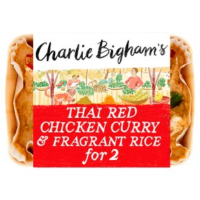 Charlie Bigham's Thai Red Chicken Curry Fragrant Rice