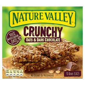 Nature Valley Crunchy Oats & Dark Chocolate Cereal Bars