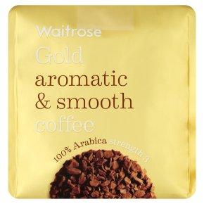 Waitrose Gold Coffee Refill 100% Arabica strength 3