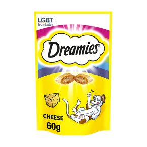 DREAMIES Cat Treats with Cheese 60g