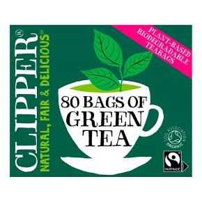 Clipper 80 Pure Green Teabags