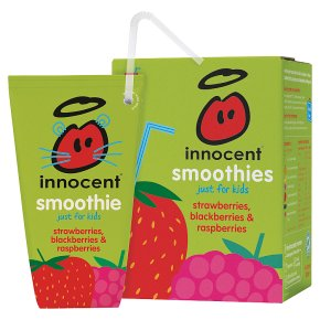 innocent kids strawberry & blackberry