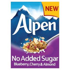 Alpen No Added Sugar Blueberry, Cherry & Almond
