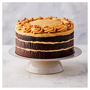 Fiona Cairns Chocolate Salted Caramel Triple Layer Cake