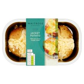 Waitrose jacket potato with cheese
