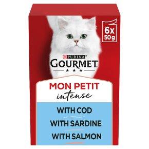 Gourmet Mon Petit with Cod, Sardine & Salmon