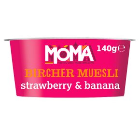 MOMA Bircher Muesli Strawberry & Banana