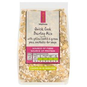 Waitrose LOVE life quick cook barley mix