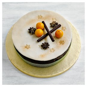 Fiona Cairns Chocolate & Orange Fruit Cake