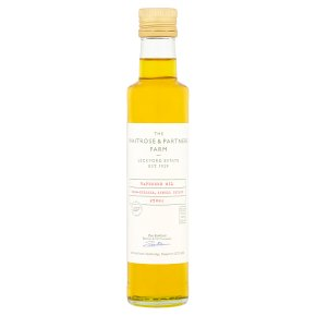 Waitrose Leckford Estate cold pressed rapeseed oil