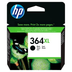 HP 364XL Yield 550 black ink cartridge
