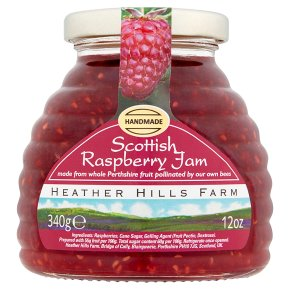 Heather Hills Scottish raspberry jam