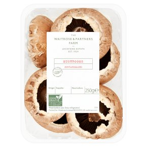 Waitrose portabellini mushrooms