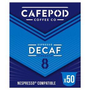 CafePod Decaf Capsules