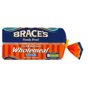 Brace's Dark & Delicious Wholemeal Thick