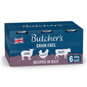 Butcher's Meaty Recipes in Jelly