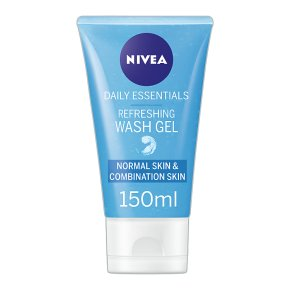 Nivea facial wash gel normal