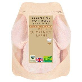 essential Waitrose British Chicken Large