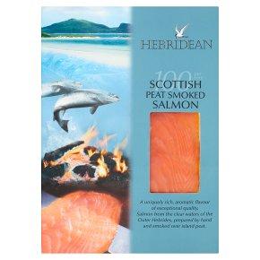 Hebridean peat-smoked salmon