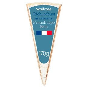 Waitrose French mature ripe Brie