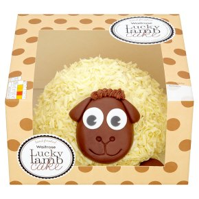 Waitrose Lucky Lamb Cake