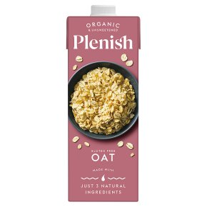 Plenish Organic Oat Dairy Free Milk