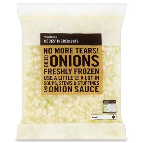 Waitrose Cooks' Ingredients diced onions